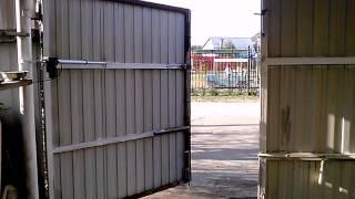 Бюджетная автоматика для распашных ворот(Комплект для распашных ворот, открывающихся наружу. Подходит для частного сектора с невысокой интенсивнос..., 2015-04-29T08:04:25.000Z)