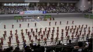 第25回全日本マーチングコンテスト 中国大会 岡山県立岡山南高等学校
