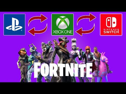 How To Cross Play PS4 Fortnite On Xbox And Nintendo Switch