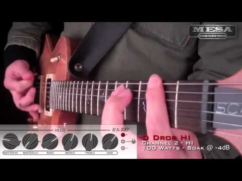 MESA Royal Atlantic RA-100 Ch. 2 HI MODE – Drop D