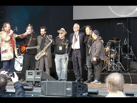 Jon Hammond All Star band at the musikmesse 2017