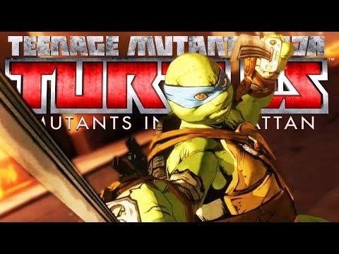 SEORANG HACKER SEJATI - Teenage Mutant Ninja Turtles : Mutants in Manhattan Indonesia #2