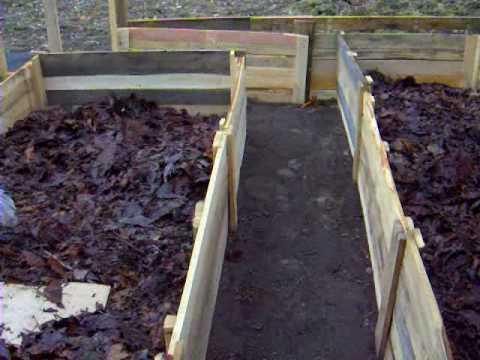 Смотреть онлайн Делаем огород  ,высокие грядки- короба  3 часть .Garden