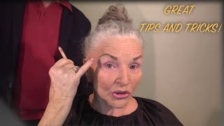 78, Looking Great: Un-redacted footage of Mom's Makeup Routine
