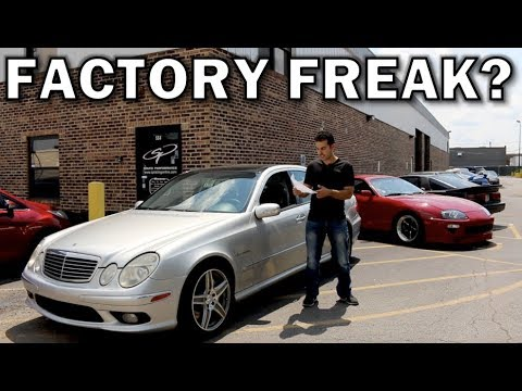 How much power does a 402,000-mile Mercedes E55 AMG still make