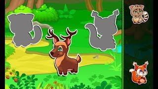 "Baby puzzle ""Children's Puzzles - Animals / Children / Baby / Android Gameplay Video"