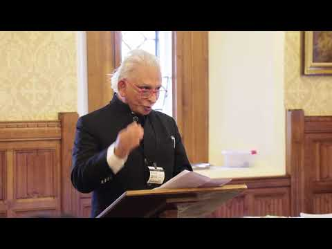 Sri M  - 'Virtuous Leadership' - Talk at The House of Lords.
