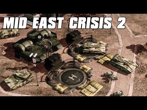 Mideast Crisis 2 IDF Military Defense - Command and Conquer 3 Mod