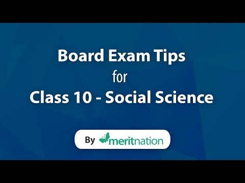 CBSE Class 10 : Social Science Tips
