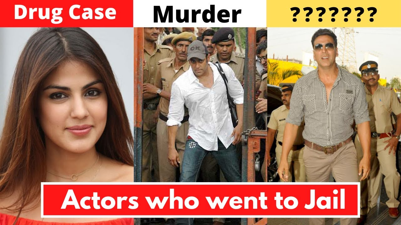 New List Of 6 Bollywood Actors Who Went To Jail For Serious Crimes - Rhea Chakraborty, Salman Khan