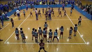 川崎市のとどろきアリーナで2018年1月14日に開催されたBSC幼稚園ドッジ...