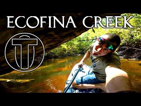 Conquering Ecofina Creek - Kayak Camping Overnighter