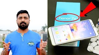Huawei Honor 7X Mid Range Camera Smartphone Unboxing & Overview by computer and mobile tips