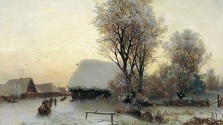 Зимний пейзаж видео от Алексея Мартынова