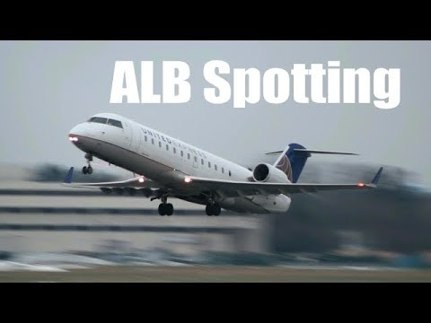 [HD] 10 minutes of Plane Spotting at Albany (ALB) With NickFlightX!