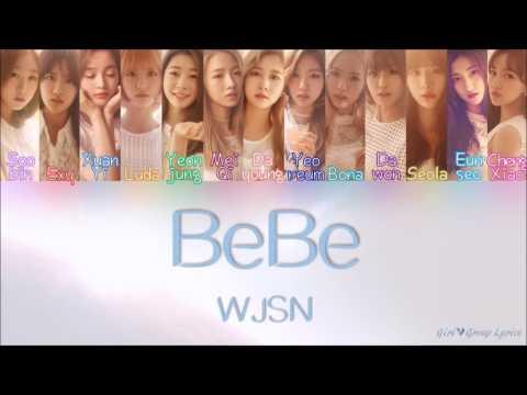 WJSN/Cosmic Girls (우주소녀) - BeBe [Color Coded Lyrics] (ENG/ROM/HAN)