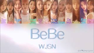 [3.01 MB] WJSN/Cosmic Girls (우주소녀) - BeBe [Color Coded Lyrics] (ENG/ROM/HAN)
