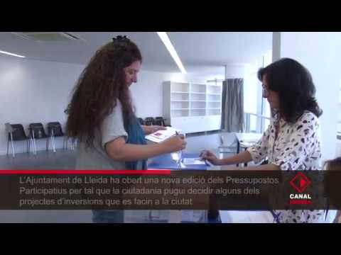 La Paeria obre un segon procés de pressupostos participatius