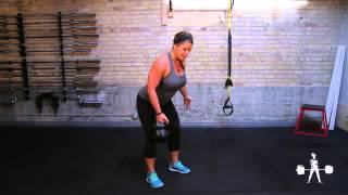 Unapologetically Powerful Demo: Kettlebell One-Armed Bent-Over Row