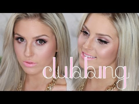 grwm clubbing makeup hair outfit shaaanxo youtube. Black Bedroom Furniture Sets. Home Design Ideas