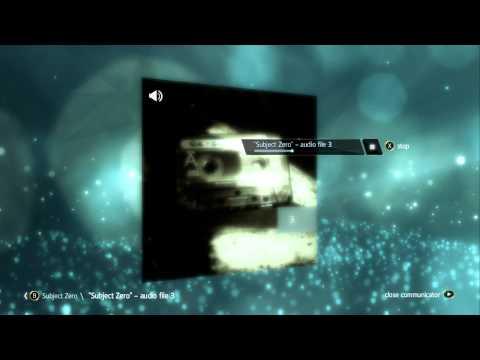 Assassin Creed IV - Subject Zero Audio File HD