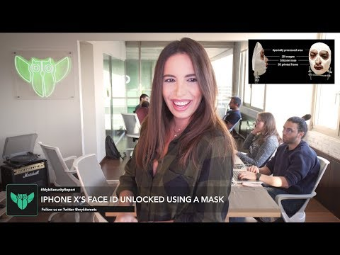 iPhone X's Face ID Unlocked Using A Mask | Myki Security Report