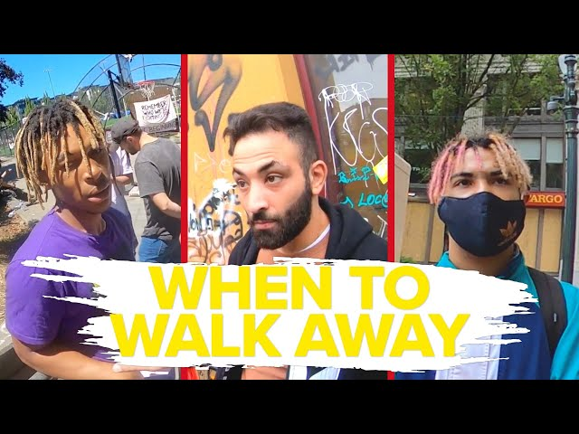 Street Encounters: When to Walk Away