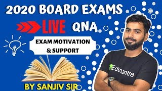 LIVE QNA by SANJIV SIR  || 2020 EXAMS  || CLASS 9th & 10th CBSE