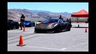 Sesto Elemento Lamborghini Test Drive