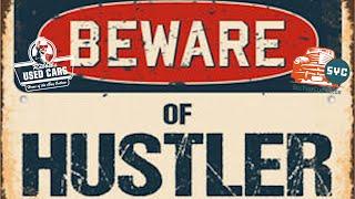 Beware of the Hustler - Rabbit's Used Cars
