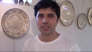 Керамист Абдулвахид Бухорий. Авторская выставка ''Отражение''