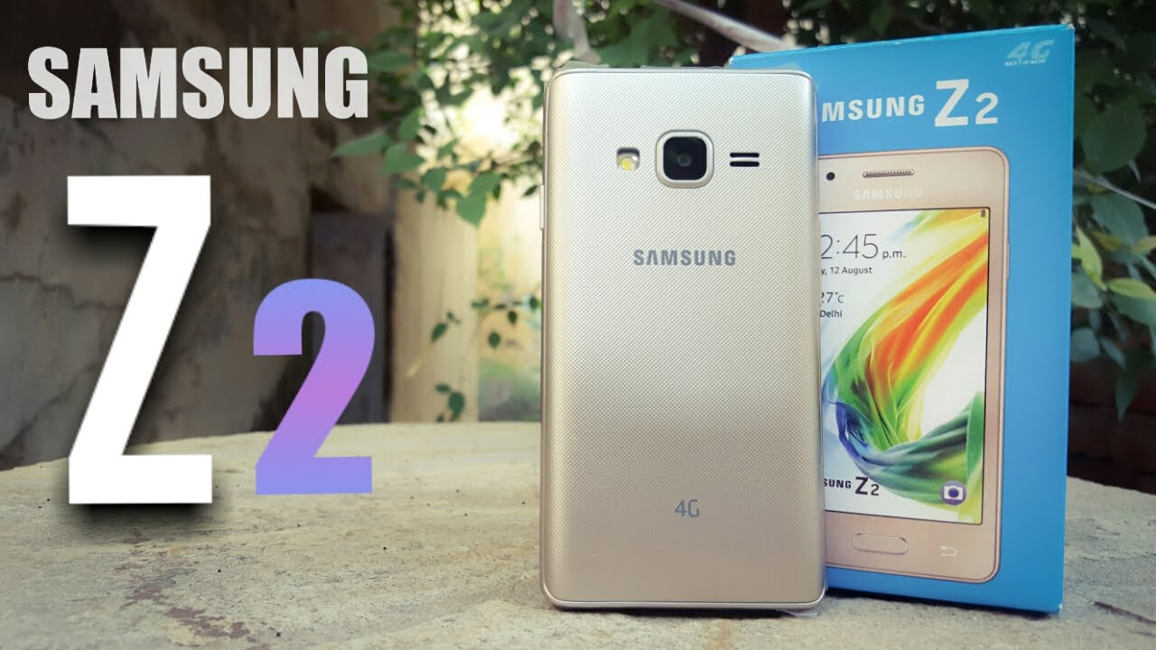 Samsung Z2 4g Budget Mobile Full Review Youtube