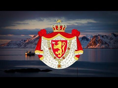 """Kingdom of Norway (1814-) Patriotic Song """"Norge i rødt, hvitt og blått"""" (1941) """"Instumental"""""""
