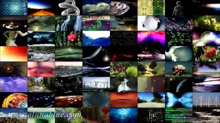 Stock Footage - Stock Video Backgrounds - Video Wall clip 01