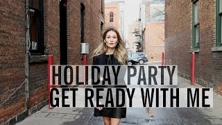 Get Ready With Me: Hair, Makeup & Outfit | ttsandra thumbnail