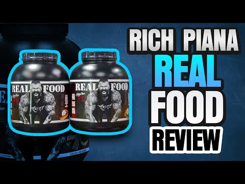 Rich Piana Real Food Supplement Review