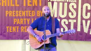 "Dan Zlotnick ""A Mantel And The Stars"" at 2018 Pleasantville Music Festival"