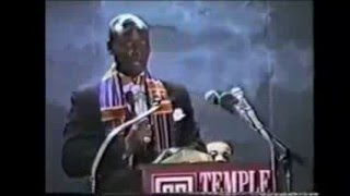 Dr. Khalid Muhammad at Temple University (1990) (Full)