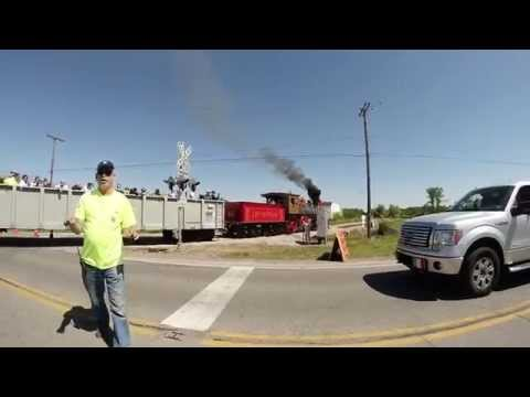 The Jerk! Confrontation at Wellington Ohio Train LSRA event -  some Strong language.