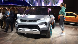 Tata H2X, Altroz and Buzzard at Geneva Motor Show 2019