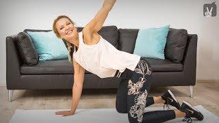 Fitness meets Pilates Workout gegen Rückenschmerzen für Anfänger