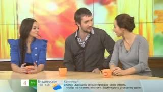 Артисты мюзикла «Граф Орлов» на Первом канале