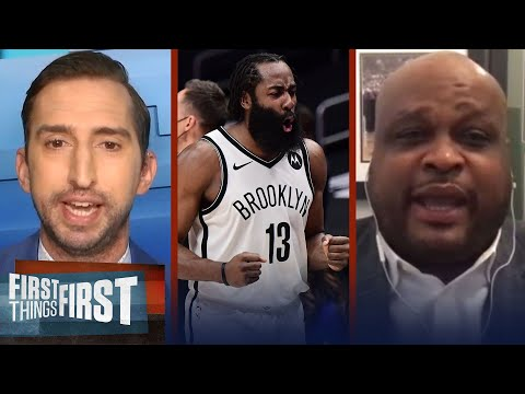 Nets win 6th straight game — Antoine Walker favors Brooklyn to win NBA Title | FIRST THINGS FIRST