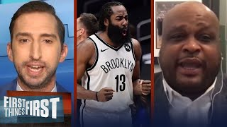 Nets win 6th straight game - Antoine Walker favors Brooklyn to win NBA Title | FIRST THINGS FIRST