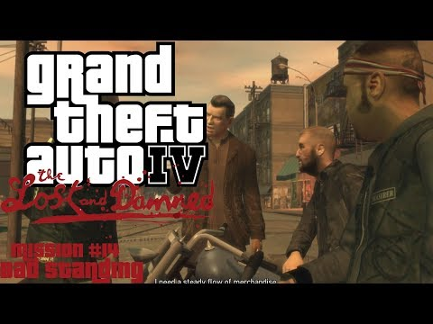 GTA: The Lost And Damned (PC) Mission #14 - Bad Standing