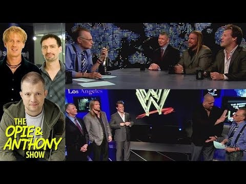 Opie & Anthony - Larry King's Terrible Wrestling Questions