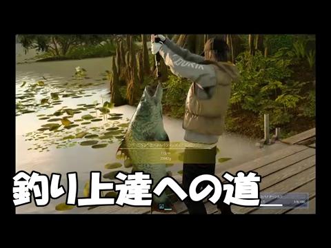 釣り上達への道【FF15 釣り コツ】【実況】finalfantasyXV PlayStation4Pro .