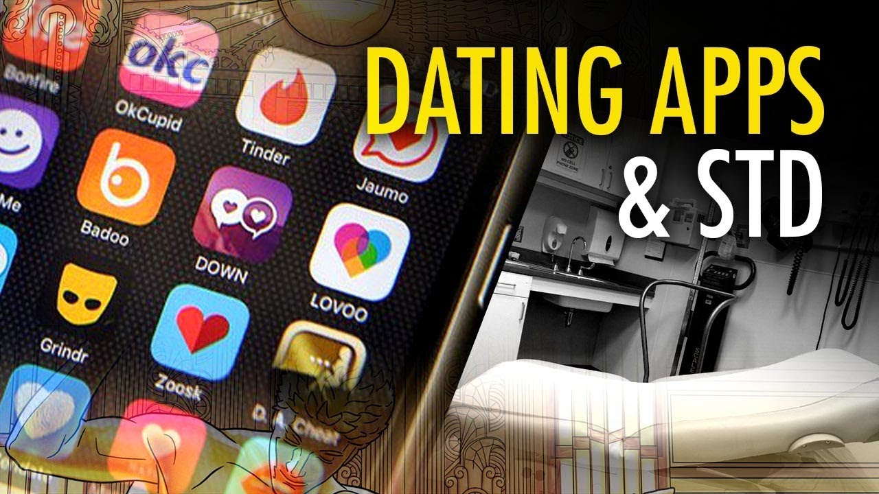 Tinder and hookup apps blamed for rise in stds