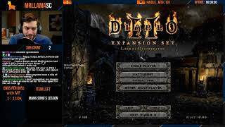 Diablo 2 - Holy Grail Sorc (12/16/2019)