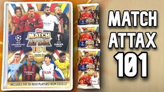 MATCH ATTAX 101 BINDER AND PACK OPENING!!!